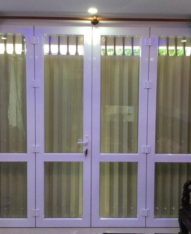 Cửa Nhôm LV60_4 Cánh_1
